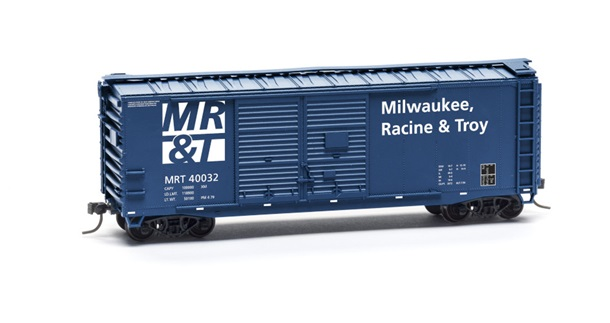 Milwaukee Racine & Troy 40-foot Double-Door Boxcar Kit - Limited Edition