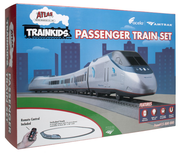 Atlas Trainkids Passenger Train Set