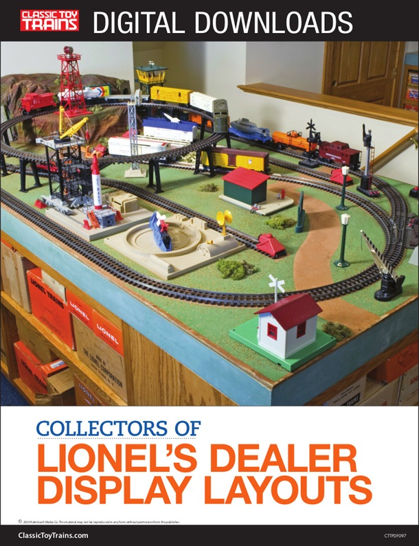 Collectors of Lionel's dealer display layouts