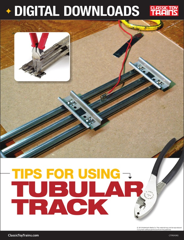 Tips for using tubular track