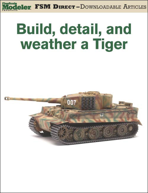 Build, Detail and Weather a Tiger