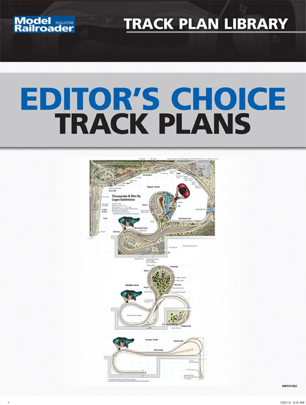 Editor's Choice Track Plans