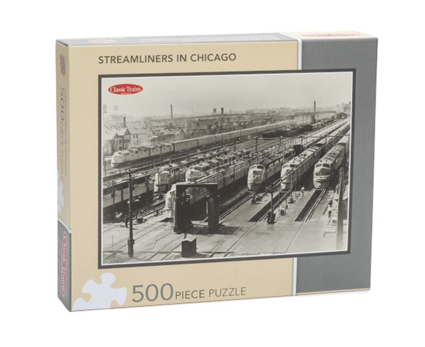 Streamliners in Chicago Puzzle