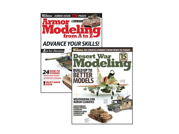 Armor Modeling from A to Z and Desert War Modeling Bundle