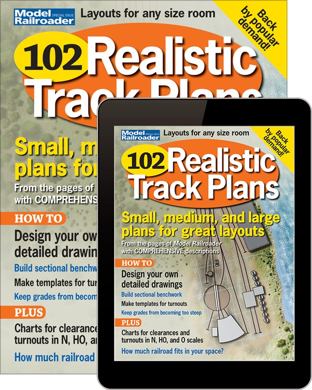 102 Realistic Track Plans