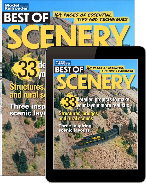 Model Railroader's Best of Scenery