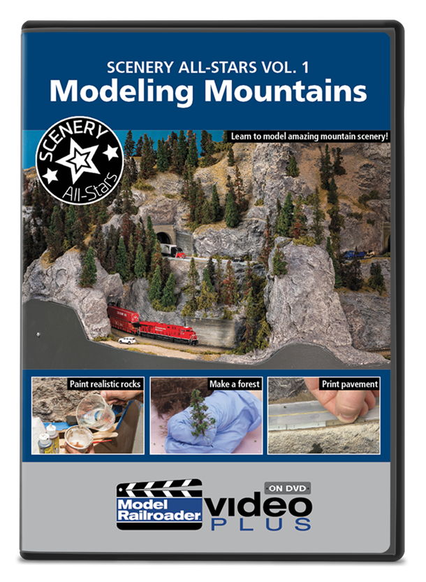 Scenery All-Stars Vol. 1: Modeling Mountains DVD