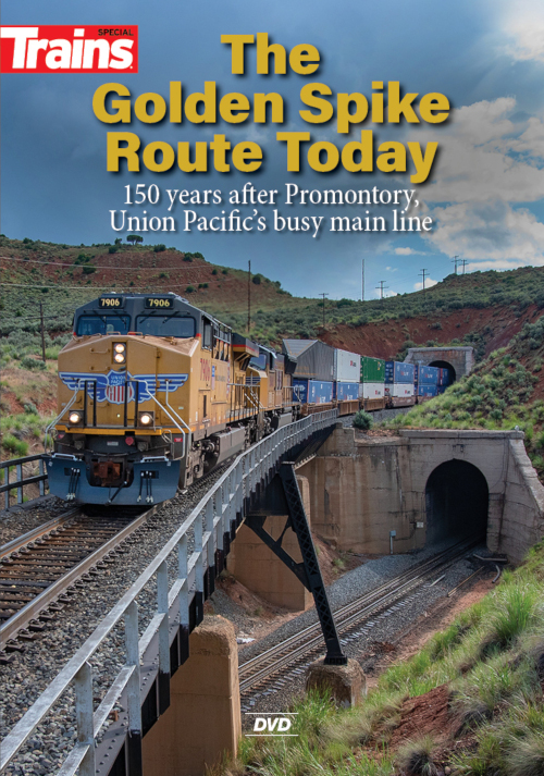 The Golden Spike Route Today DVD